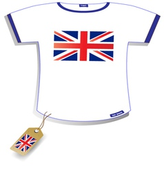 England T-shirt vector image vector image
