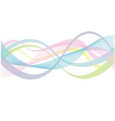 Fractal background vector image