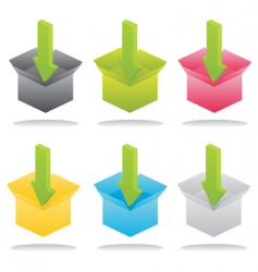 loading icons vector image