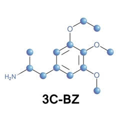 3c-bz psychedelic drug vector
