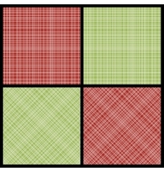 Set of seamless hatch patterns vector