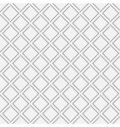 Seamless pattern with white 3d elements vector