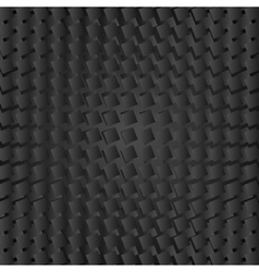 Abstract black geometric squares background vector