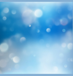blue holiday abstract glitter defocused light eps vector image