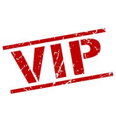 Vip stamp vector