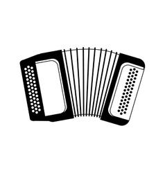 Accordion music instrument vector image vector image