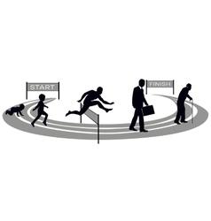 Human development vector image vector image