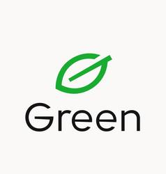 Leaf letter g logo vector