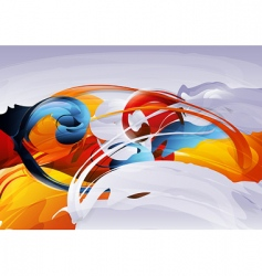abstract graphic vector image