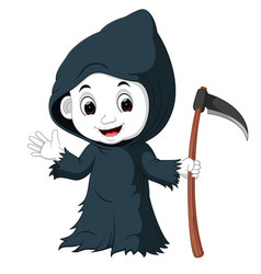 funny grim cartoon vector image