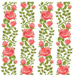 roses wallpaper vector image