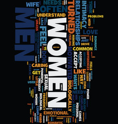 Men women and sex text background word cloud vector