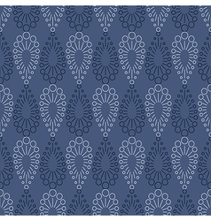 Seamless pattern with drops vector