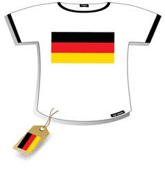 Germany T-shirt vector image