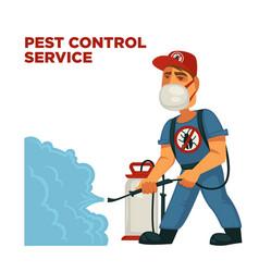 Extermination or sanitary pest control vector