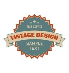 Sale vintage design banner vector image vector image