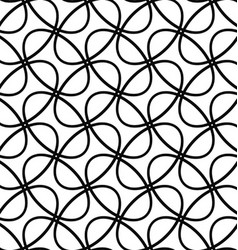 Seamless diagonal ellipse ring pattern background vector