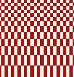 Abstract red checkered pattern background vector