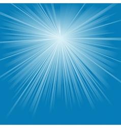 Blue light rays vector