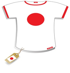 Japan T-shirt vector image