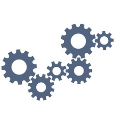 Abstract gear wheels vector