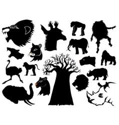 african wildlife vector image