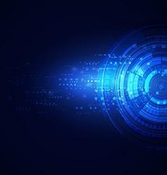 Technology modern futuristic digital background vector