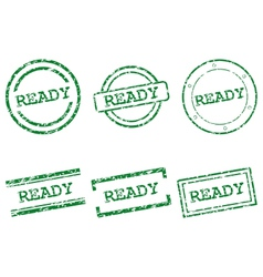 Ready stamps vector