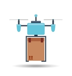 drone technology design vector image