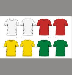 Template t shirt design vector