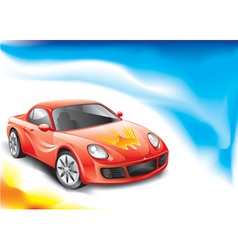 Sports Car vector image