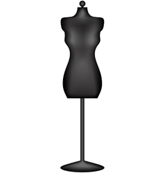 mannequin or dressmakers dummy vector image
