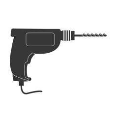 Drill icon tool design graphic vector