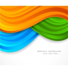 Abstract colorful backgorund vector image vector image