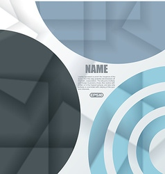 Design - circles background vector