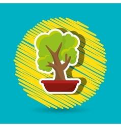 plant office icon design vector image