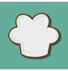 Chef hat design vector