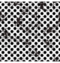 Seamless grunge pattern endless background vector