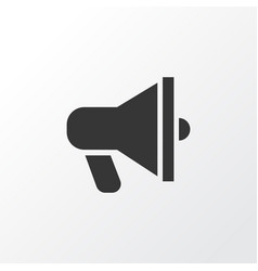 Announcement icon symbol premium quality isolated vector