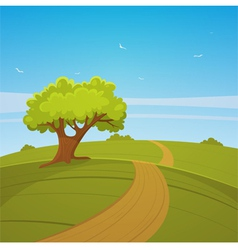 Country Road vector image