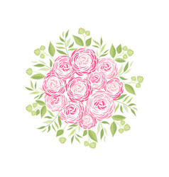 Ranunculus flower vector