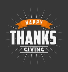 Happy thanksgiving design vector