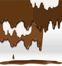 Cocolate background vector