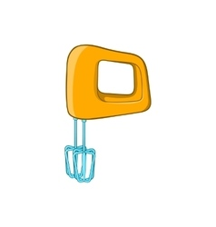 Mixer icon cartoon style vector image