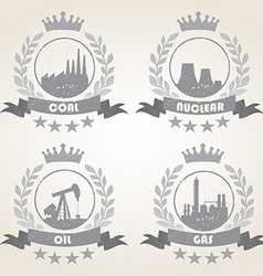 Energetic icons vector