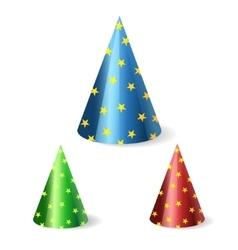 festive cap vector image vector image