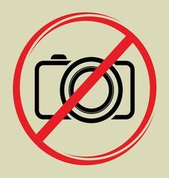 no camera1 vector image vector image