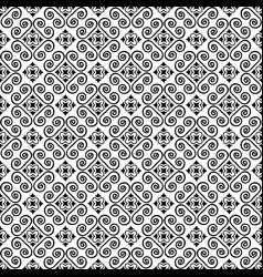 seamless decorative pattern vector image