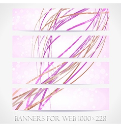 Banners for web collection14 vector