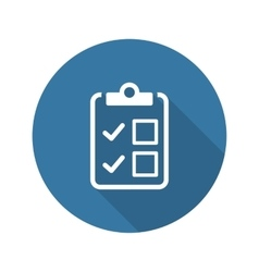 Appointment request and medical services icon vector